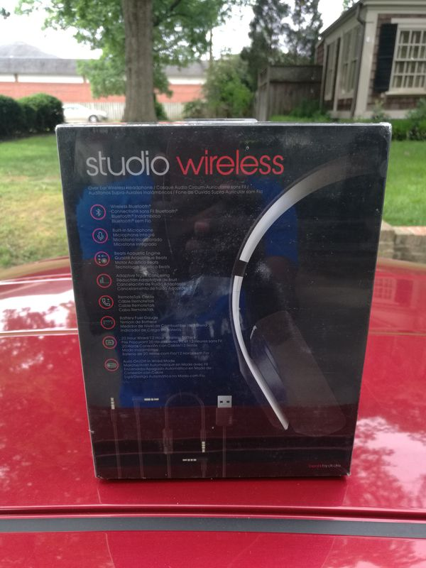 Outta Compton - Studio 2.0 Beats by Dre wireless Bluetooth headset Headphone Earphones Sealed in box NEW