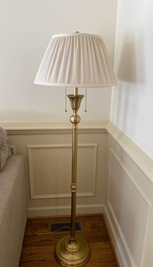 Floor lamp for Sale in Yorktown, VA