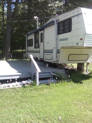 Hitchhicker rv for sale in campground for Sale in Panama, NY