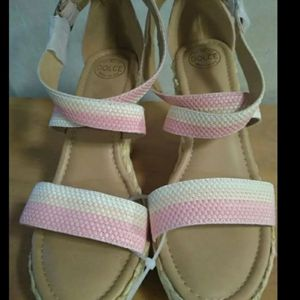 wedge espadrille sandals by DOLCE by mojo moxy for Sale in Huttonsville, WV
