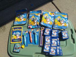 Pokemon stuff over 1000 cards $50 for Sale in Modesto, CA