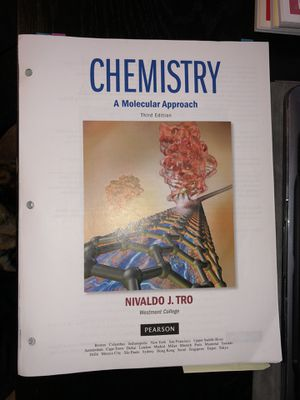Chemistry Book 3rd Edition (Paper Back) for Sale in San Bruno, CA