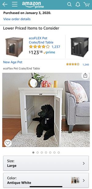 Dog Crate End Table for Sale in Washington, DC
