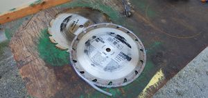 """Two 12"""" Diameter Saw Blades 64 Teeth for Sale in Snohomish, WA"""