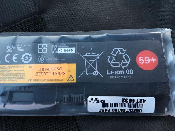 Lenovo Battery