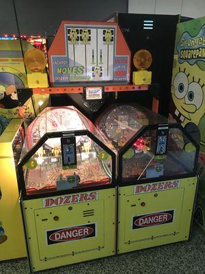 Dozers arcade redemption ticket arcade game for Sale in Fresno, CA