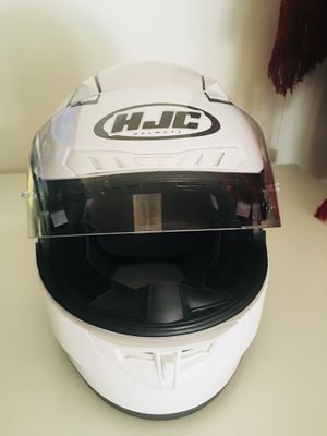 HJC CL-17 unused White Helmet. Mint condition! for Sale in Centreville, VA