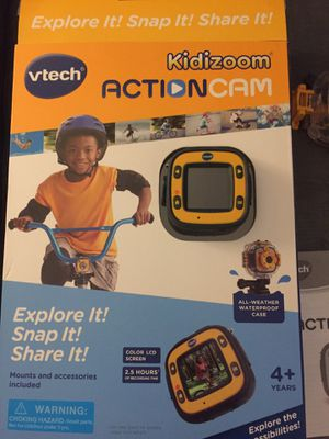 Kidszoom vtech camara go pro for kids for Sale in Hoquiam, WA