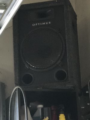 Optimus speakers with pioneer receiver for Sale in Imperial, MO