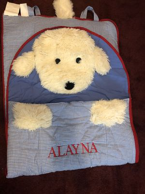 Pottery Barn sleeping bag for Sale in Round Lake Heights, IL