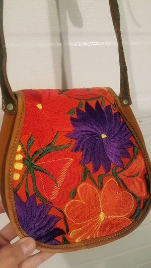 Floral Embroidered Crossbody Bag for Sale in Stanwood, WA