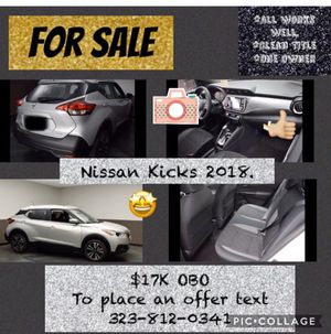 Nissan Kicks 2018 for Sale in Vacaville, CA