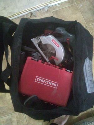 6 pc Craftsman power tool set for Sale in Marcy, NY