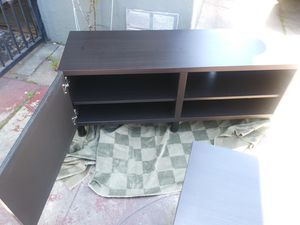 T.V. /entertainment console with side table for Sale in National City, CA