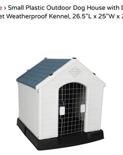 Small Plastic Outdoor Dog House for Sale in Rancho Cucamonga,  CA