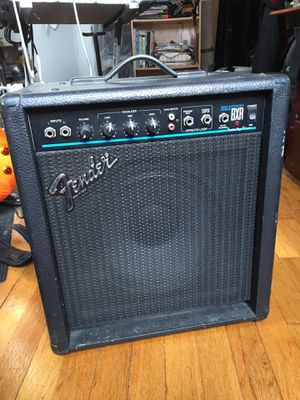 Vintage Fender bass guitar amp made in the USA for Sale in Queens, NY