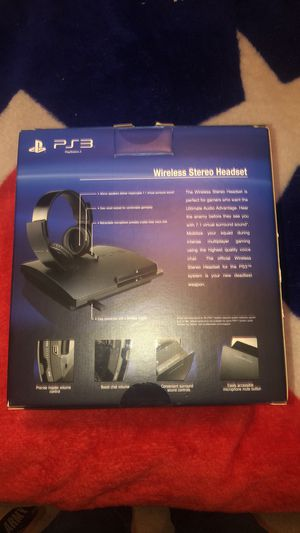PS3 wireless headset for Sale in Woodbridge, VA
