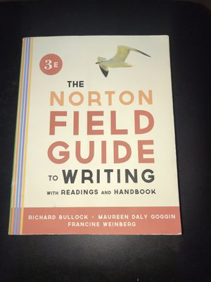 Norton Field Guide to Writing Third Edition- College textbook for Sale in Homosassa, FL