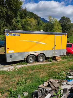 2006 -18ft Interstate Car hauler/cargo trailer for Sale in Monroe, WA