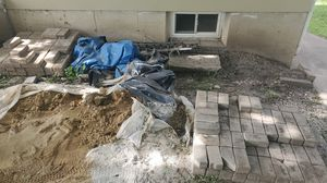 Free brick pavers 1st come 1st serve for Sale in South Elgin, IL