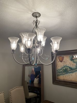 Gray Dining Light fixture for Sale in Belle Isle, FL
