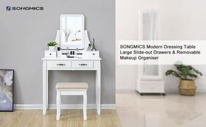 SONGMICS VANITY SET for Sale in Independence, OH
