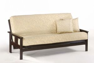 Sofa bed - frame with futon & cover for Sale in Orlando, FL