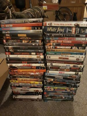 132 dvds in good conditions for Sale in Milton, FL
