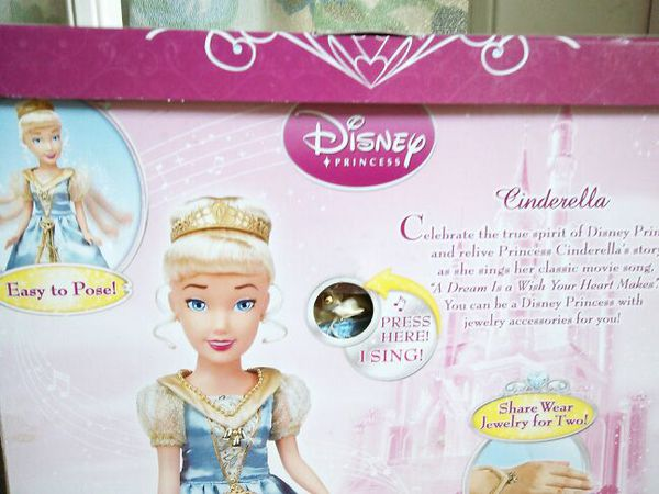 * DISNEY PRINCESS * CINDERELLA ONCE UPON A PRINCESS * I SING MY CLASSIC MOVIE SONG * A DREAM IS A WISH YOUR HEART MAKES *