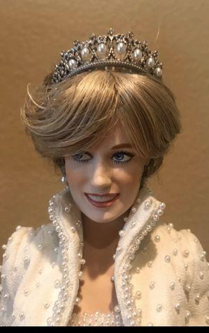 Franklin mint princess Diana w crown, Portrait edition for Sale in Fullerton, CA