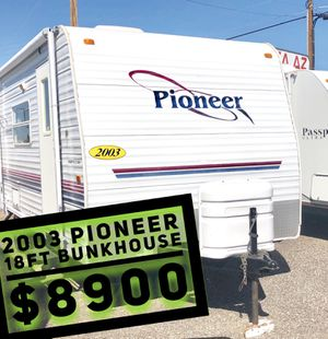 03 Fleetwood Bunk House Camper Ultra Lite 18ft for Sale in Mesa, AZ