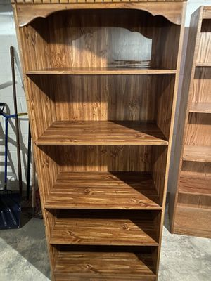 Wooden shelving unit in very good condition. for Sale in Sewell, NJ