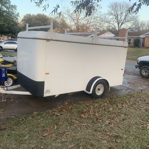 6x12 Steel Enclosed Cargo Trailer for Sale in Mesquite, TX