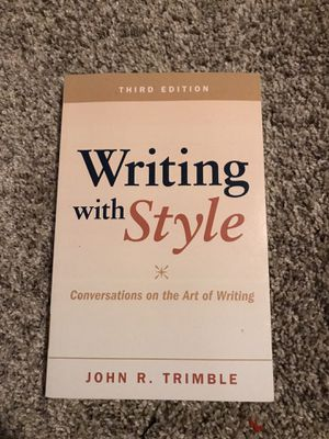 Writing with Style by John Trimble for Sale in San Diego, CA