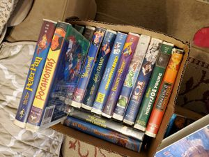 Disney vhs for Sale in Monrovia, CA