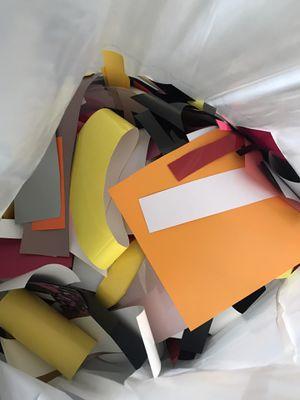 Iron on vinyl scraps for Sale in Church Road, VA