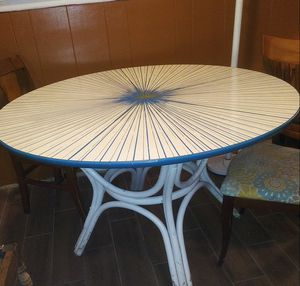 60's Formica Table Unique Design for Sale in Dallas, TX