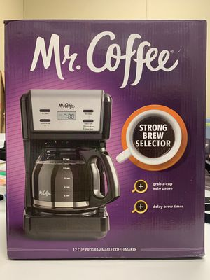New, Opened Box - Mr. Coffee 12-Cup Programmable Coffee Maker and Pot, KNX BVMC-KNX23 for Sale in Garland, TX