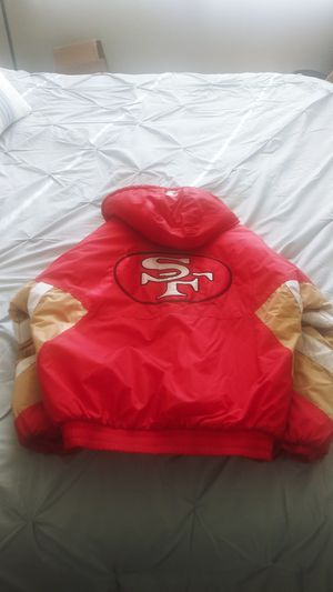 Mint Condition Vintage mens Starter XL 49ers Parka for Sale in San Francisco, CA