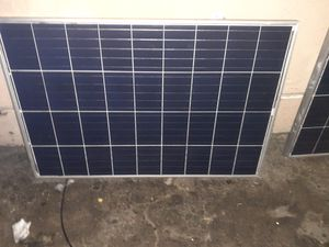 2 100w solar panels by Eco-Worthy for Sale in Los Angeles, CA