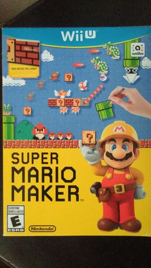 Super Mario Maker for Wii U for Sale in Banning, CA