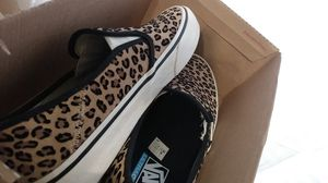 Cheetah slip on vans for Sale in West Palm Beach, FL