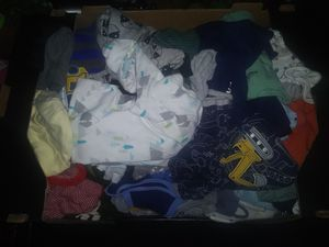 Big box Baby boy clothes lot 0 - 3 months newborn infant kids for Sale in Vancouver, WA