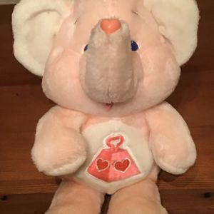 Lotsa Heart Elephant 1984 Vintage Care Bear Cousin for Sale in Cupertino, CA