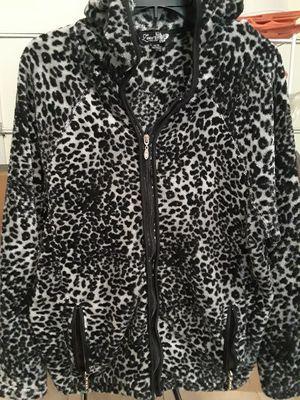 Women-Cheetah Print Jacket Size 14/16 for Sale in El Cajon, CA
