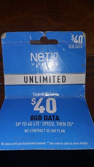Net 10 for Sale in Cumberland, VA