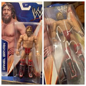 SIGNED WWE Daniel Bryan Basic Action Figure for Sale in Milpitas, CA