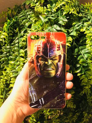 Brand new cool iphone 7+ or 8+ PLUS case cover rubber hulk marvel avengers mens guys hypebeast hypebae womens girls hype swag for Sale in San Bernardino, CA
