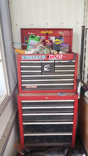 Craftsman 15 Drawer with locking wheels for Sale in Palm City, FL