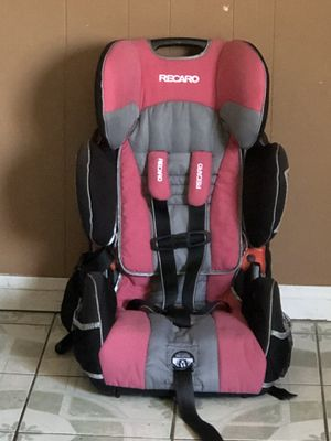 PRACTICALLY NEW RECARO CONVERTIBLE CAR SEAT 3 in 1 for Sale in Riverside, CA
